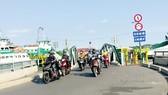 Phà Cát Lái quá tải do lượng người, phương tiện qua lại mỗi ngày càng đông