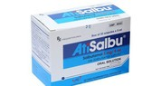 Thu hồi dung dịch uống trị hen Atisalbu