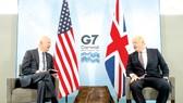 Tổng thống Mỹ Joe Biden và Thủ tướng Anh Boris Johnson tại một cuộc gặp trước thềm Hội nghị thượng đỉnh G7