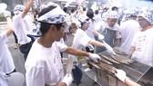 Cá thu đao là món ăn mang hương vị đặc trưng của mùa thu Nhật Bản. Nguồn: NHK