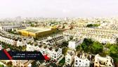 Gò Vấp đổi màu áo mới với những dự án khu dân cư cao cấp mang dáng dấp đô thị châu Âu. (Ảnh: CityLand Garden Hills)