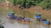 Cho phép khai thác cát trở lại trên sông Đồng Nai