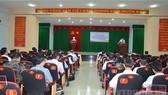 Toàn cảnh buổi khai mạc lớp học. Ảnh: hcmcpv.org.vn