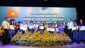 UBND quận 10 vừa tổ chức lễ trao giải thưởng Lê Quý Đôn lần thứ 32 - năm 2019 cho 82 học sinh. Ảnh: http://www.quan10.hochiminhcity.gov.vn
