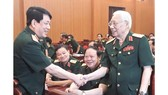 Đại tướng Lương Cường thăm hỏi các cựu tướng lĩnh, sĩ quan Tổng cục Chính trị đang sinh sống tại khu vực phía Nam