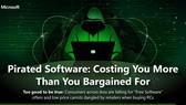 Sử dụng phần mềm lậu là hành vi phạm pháp