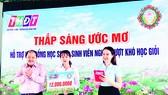 """Trao học bổng """"Thắp sáng ước mơ"""" tại huyện Thanh Bình, tỉnh Đồng Tháp"""