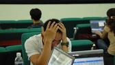 Thị trường chứng khoán lao đao