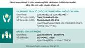 Thông tin tiếp nhận ủng hộ phòng, chống dịch Covid-19 và hạn mặn xâm nhập ngày 19-4  