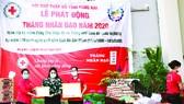 Vedan Việt Nam trao tặng 2 nhà chữ thập đỏ, đồng hành cùng Hội Chữ thập đỏ Việt Nam
