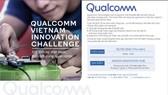 """Nhiều phần thưởng giá trị tại """"Thử thách Đổi mới sáng tạo Qualcomm Việt Nam"""""""