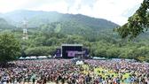 Quang cảnh tại Fuji Rock Festival năm 2019