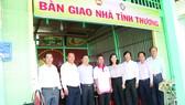 Công ty TNHH MTV Xổ số kiến thiết tỉnh Đồng Tháp trao nhà tình thương tại huyện Thanh Bình, tỉnh Đồng Tháp