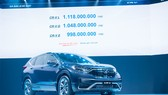Phiên bản mới Honda CR-V 2020