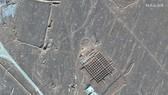 Hình ảnh vệ tinh về hoạt động xây dựng tại cơ sở hạt nhân Fordo của Iran. Ảnh: AP
