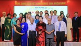 Chủ tịch Quốc hội dự họp mặt kỷ niệm 75 năm Ngày Tổng tuyển cử đầu tiên của Quốc hội Việt Nam tại Bến Tre. Ảnh: bentre.gov.vn