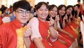 Niềm vui của người khuyết tật khi tham dự chương trình Cây mùa xuân