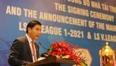 Chủ tịch Liên đoàn Bóng đá TPHCM (HFF) Trần Anh Tú: Sẽ chăm lo đặc biệt cho bóng đá học đường