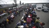Người di cư Trung Mỹ tại khu vực La Piedad, bang Michoacan, Mexico, trong hành trình tới Mỹ ngày 12-11-2018. Ảnh tư liệu: AFP/TTXVN