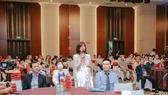 MC Kỳ Duyên tham dự sự kiện tri ân khách hàng của Hoa viên Bình An