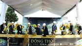 Hòa Bình thi công dự án nhà ở của Trung Nguyên tại Thành phố Cà Phê