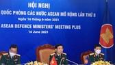 Bộ trưởng Bộ Quốc phòng Phan Văn Giang dự Hội nghị Bộ trưởng Quốc phòng các nước ASEAN mở rộng (ADMM +) lần thứ 8. Ảnh: TTXVN