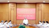 Chủ tịch nước Nguyễn Xuân Phúc phát biểu kết luận tại phiên họp thứ nhất  của Ban chỉ đạo xây dựng đề án. Ảnh: TTXVN