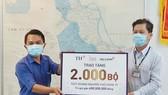 Tập đoàn TH trao tặng 2.000 bộ xét nghiệm nhanh Covid-19 góp sức chống dịch