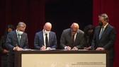 Chính phủ Venezuela và phe đối lập ký biên bản ghi nhớ