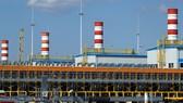 Trạm nén khí Slavyanskaya của Gazprom. Ảnh: TASS