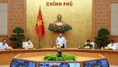 Phó Thủ tướng Thường trực Phạm Bình Minh phát biểu tại cuộc họp. Ảnh: VGP