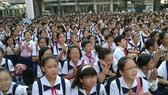 Học sinh lớp 6 Trường THPT chuyên Trần Đại Nghĩa