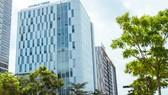 Trụ sở Công ty cổ phần Sữa Việt Nam tại số 10 Tân Trào, phường Tân Phú, quận 7, thành phố Hồ Chí Minh.