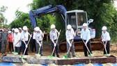 Lễ khởi công xây dựng cầu dân sinh Bon Jang Blay II (xã Trường Xuân, Đắk Song, Đắk Nông)
