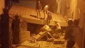 Một ngôi nhà bị sập trong trận động đất tại đảo Ischia, Italia, thứ hai, ngày 21-8-2017. Ảnh: ANSA