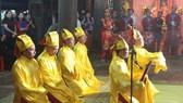 Phần tế tại lễ kỷ niệm ở Thái miếu Nhà Lê
