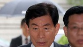 Cựu Giám đốc NIS Won Sei-hoon bị tuyên án 4 năm tù trong tháng 8-2017. Ảnh: YONHAP