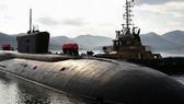 Nga hạ thủy tàu ngầm hạt nhân chiến lược