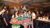 Sôi động lễ hội  bia Oktoberfest  tại Windsor Plaza
