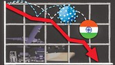 Ấn Độ-Tăng trưởng âm 45%