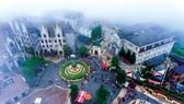 Một thành phố cổ  trên đỉnh Ba Na Hills.