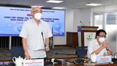 Đồng chí Phan Nguyễn Như Khuê phát biểu  tại buổi họp báo