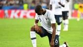 Payul Pogba gây thất vọng ở trận giao hữu với Ý.