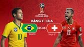 Brazil - Thụy Sĩ: Chờ Neymar tỏa sáng
