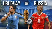 Uruguay - Nga: Quyết chiến giành ngôi đầu bảng