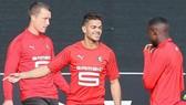 Hatem Ben Arfa (giữa) hy vọng sẽ phục hồi phong độ ở đội bóng mới.