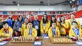 Đội tuyển nam, nữ Việt Nam tham dự Olympiad cờ vua 2018
