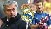 Jose Mourinho và Iker Casillas
