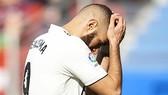 Karim Benzema thất vọng.