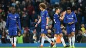 Nỗi thất vọng của Chelsea trên sân Etihad.